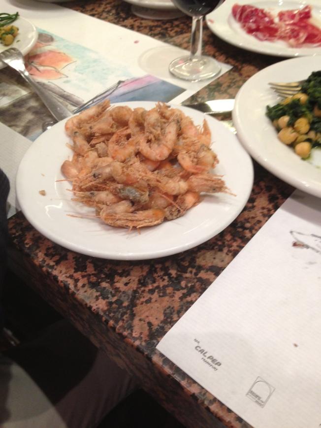 Flash Fried Shrimp