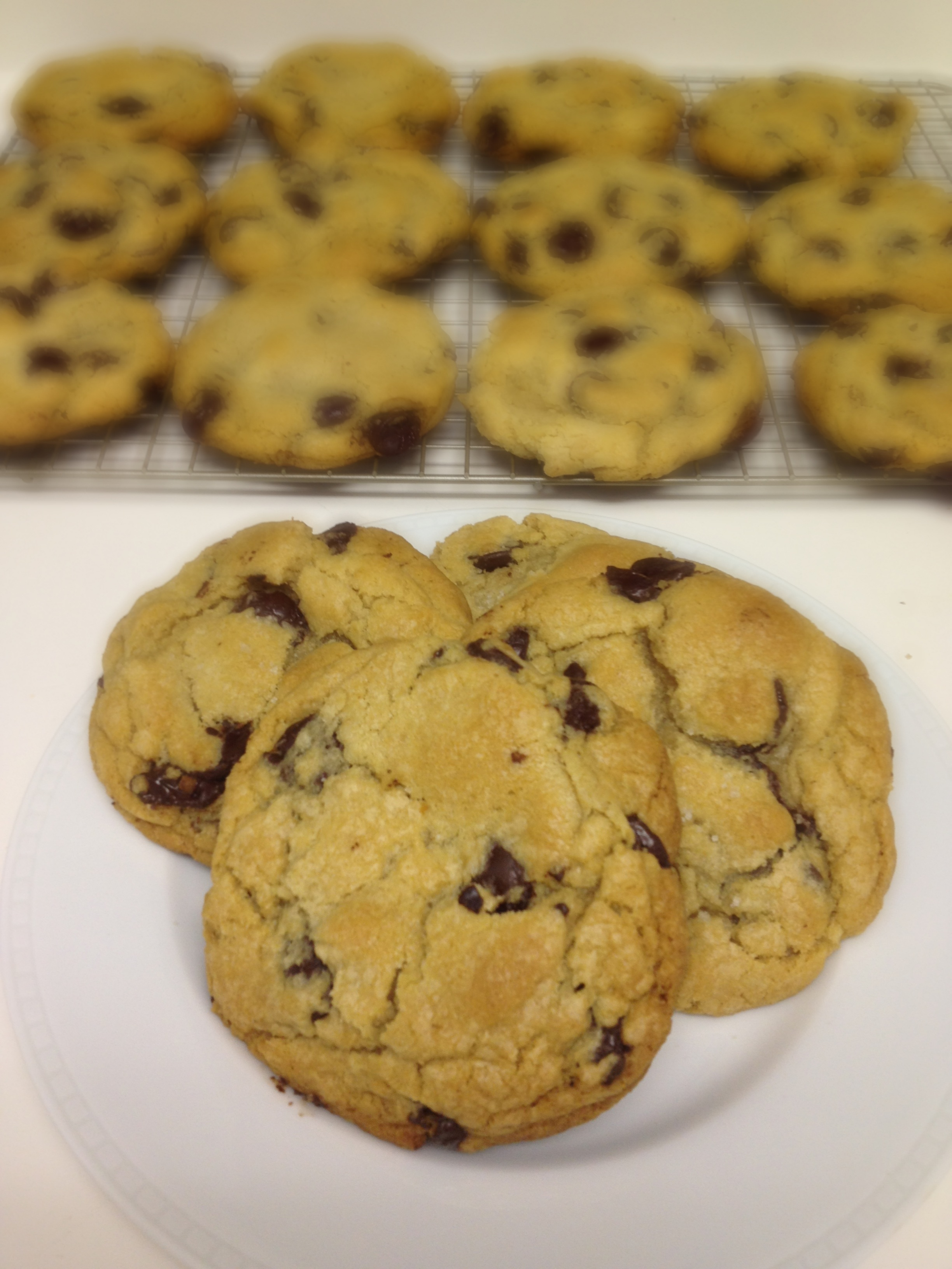 Jacques Torres Chocolate Chip Cookies - Chez CateyLou