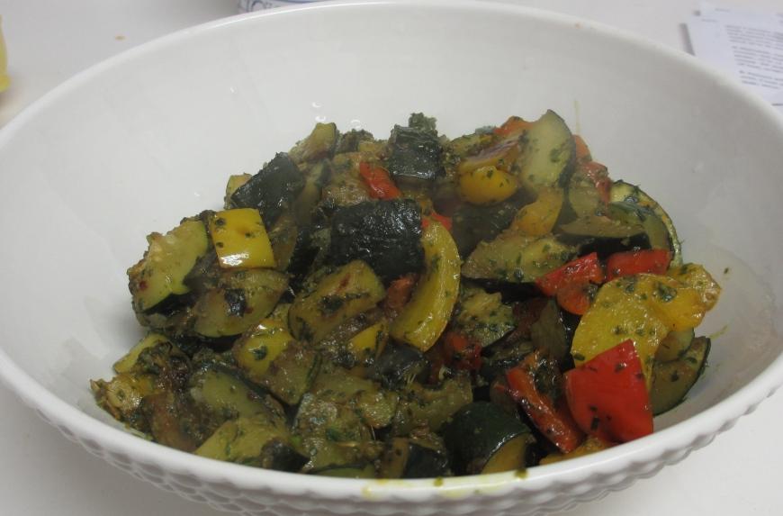 Veggies and pastata