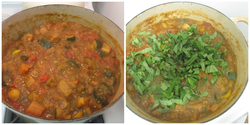 Pre and post basil