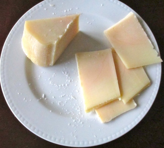Sharp provolone