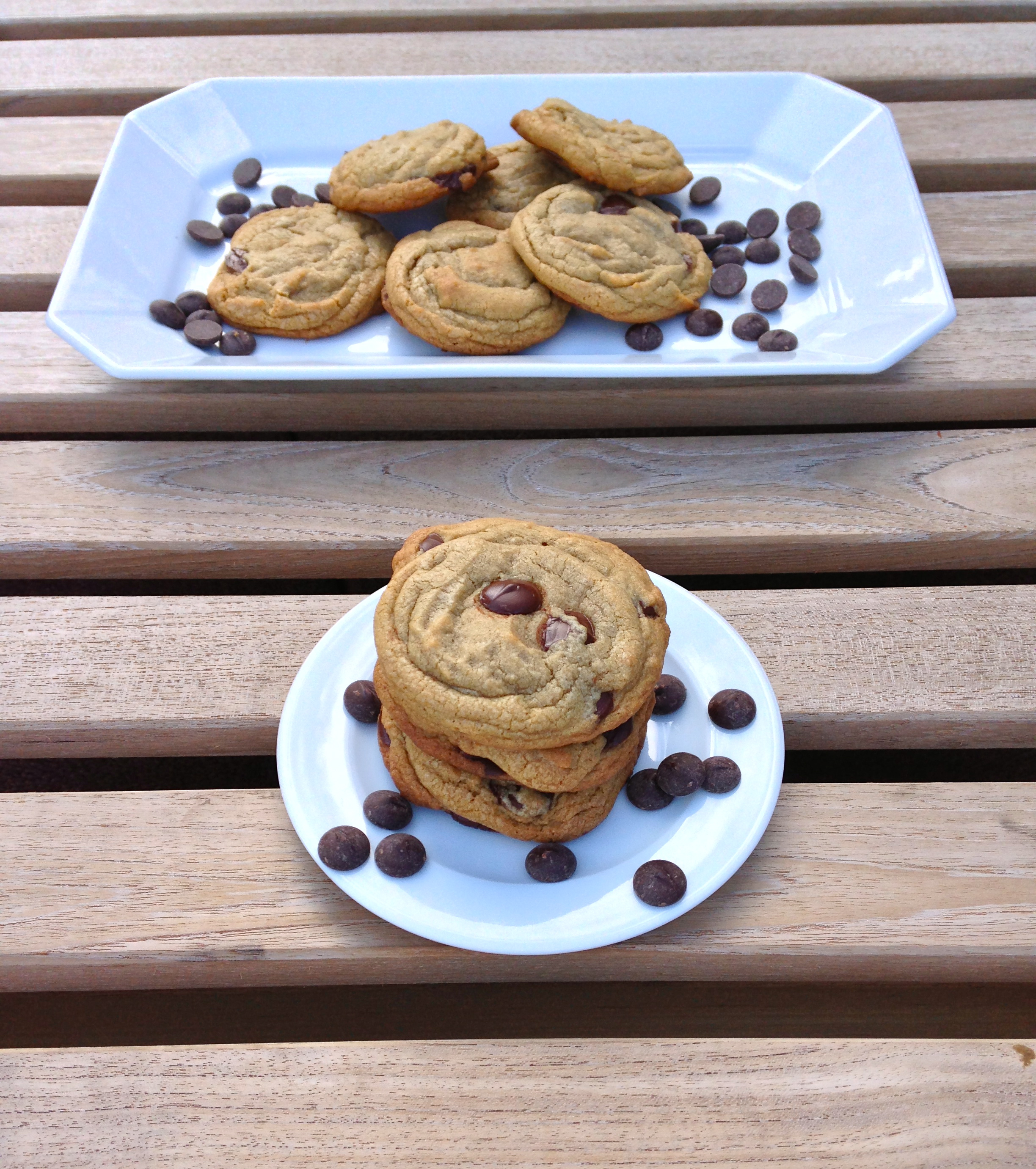 Perfect Chocolate Chip Cookies, made with browned butter   ChezCateyLou.com
