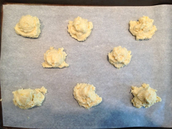 Ready for baking.