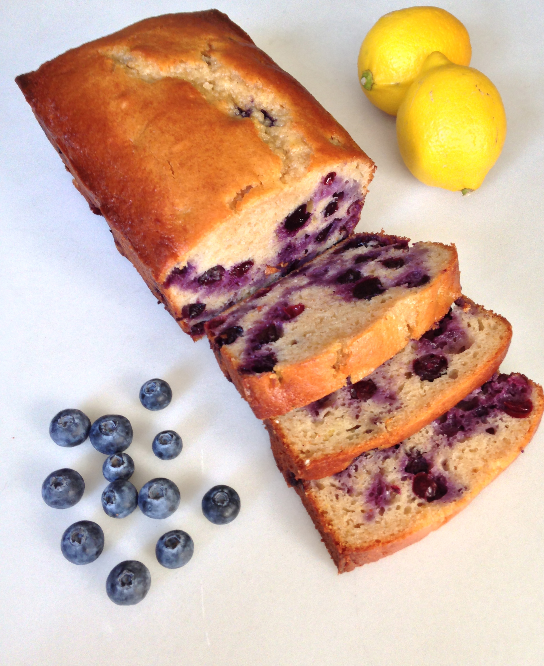 Blueberry Lemon Yogurt Loaf