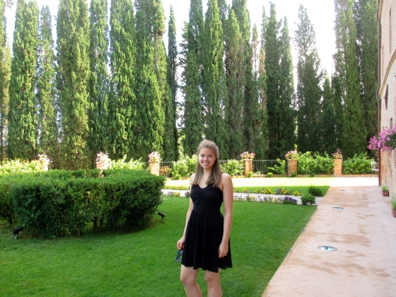 Love those cyprus trees