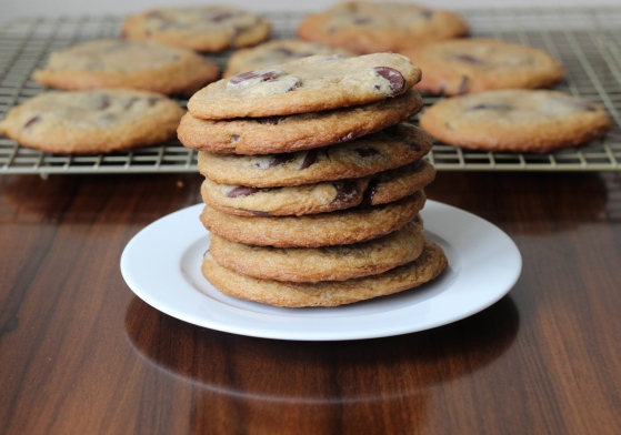 Chocolate Chip Cookies Made with Cream Cheese  ChezCateyLou.com