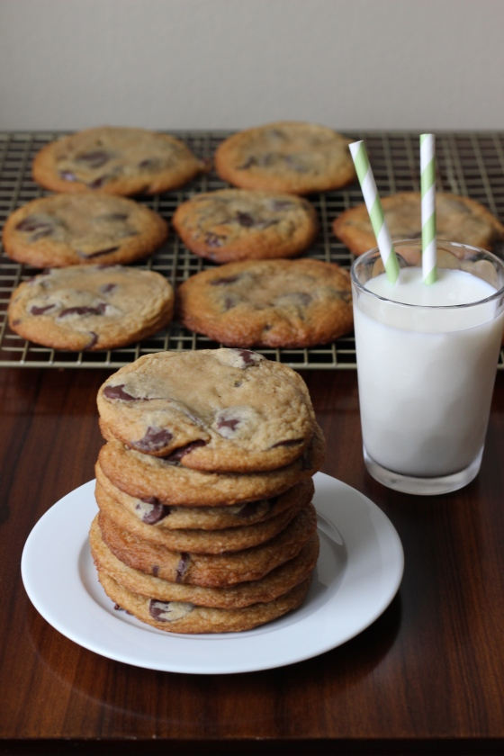 Chocolate Chip Cookies Made with Cream Cheese| ChezCateyLou.com