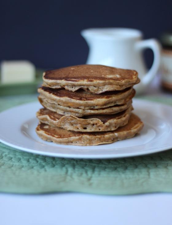 Sweet Potato Pecan Pancakes | ChezCateyLou.com