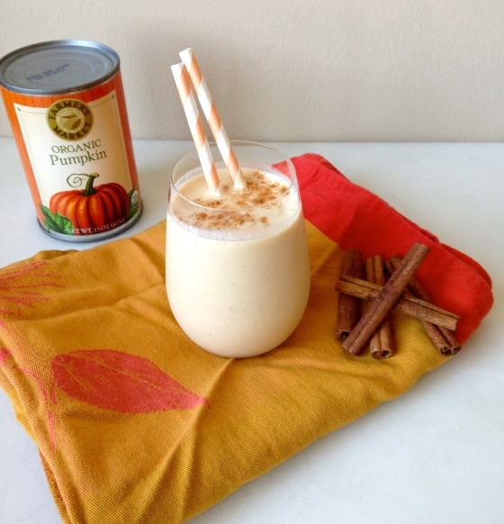 Pumpkin Pie Smoothie | chezcateylou.com