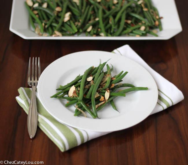 Haricots Verts | chezcateylou.com