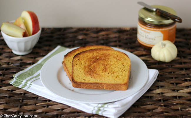 Pumpkin Yeast Bread | chezcateylou.com #pumpkin #recipe