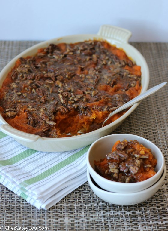 Candied Sweet Potato Casserole | chezcateylou.com