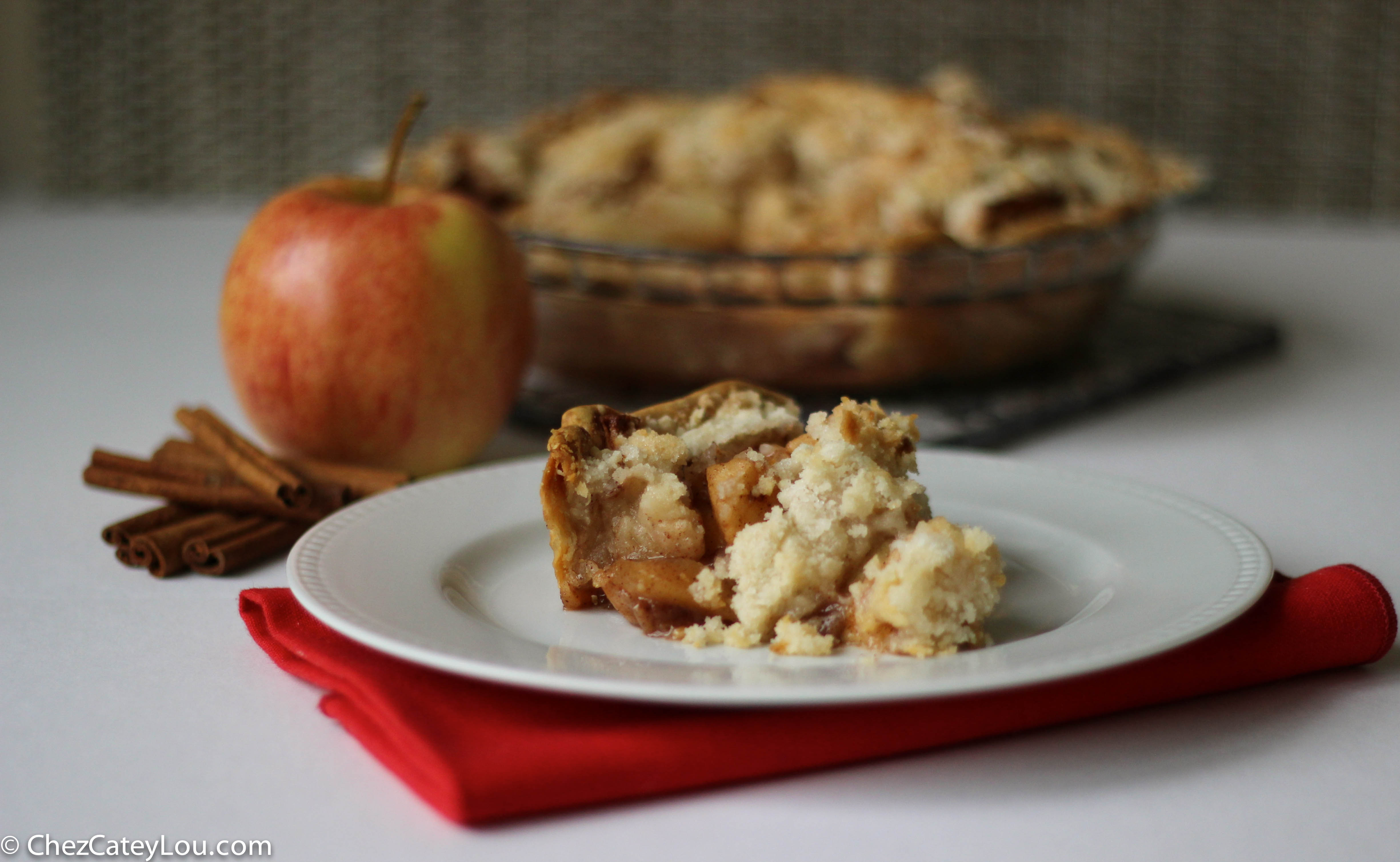 Dad's Apple Crumb Pie