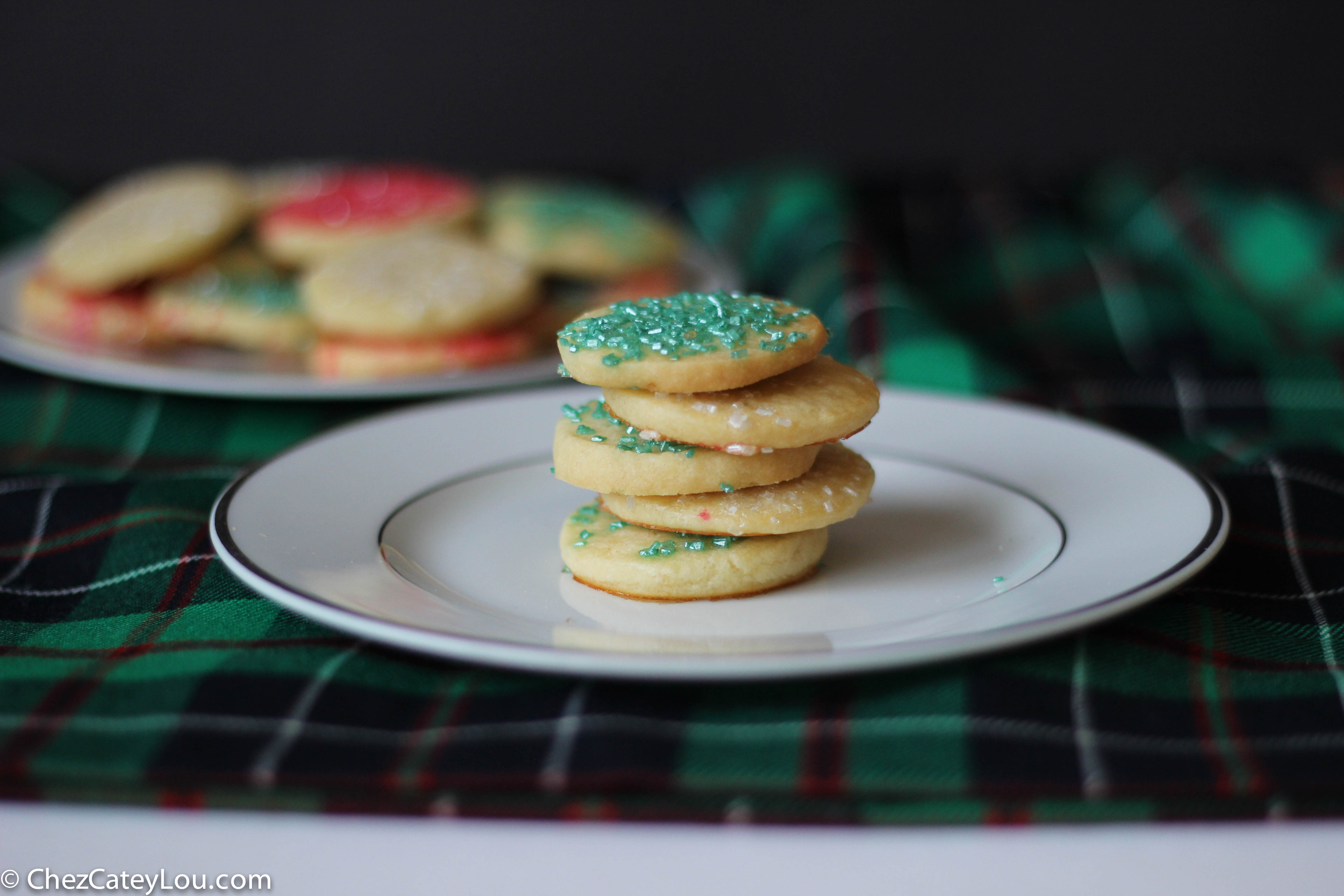French Butter Cookies, also called a Sable   ChezCateyLou.com