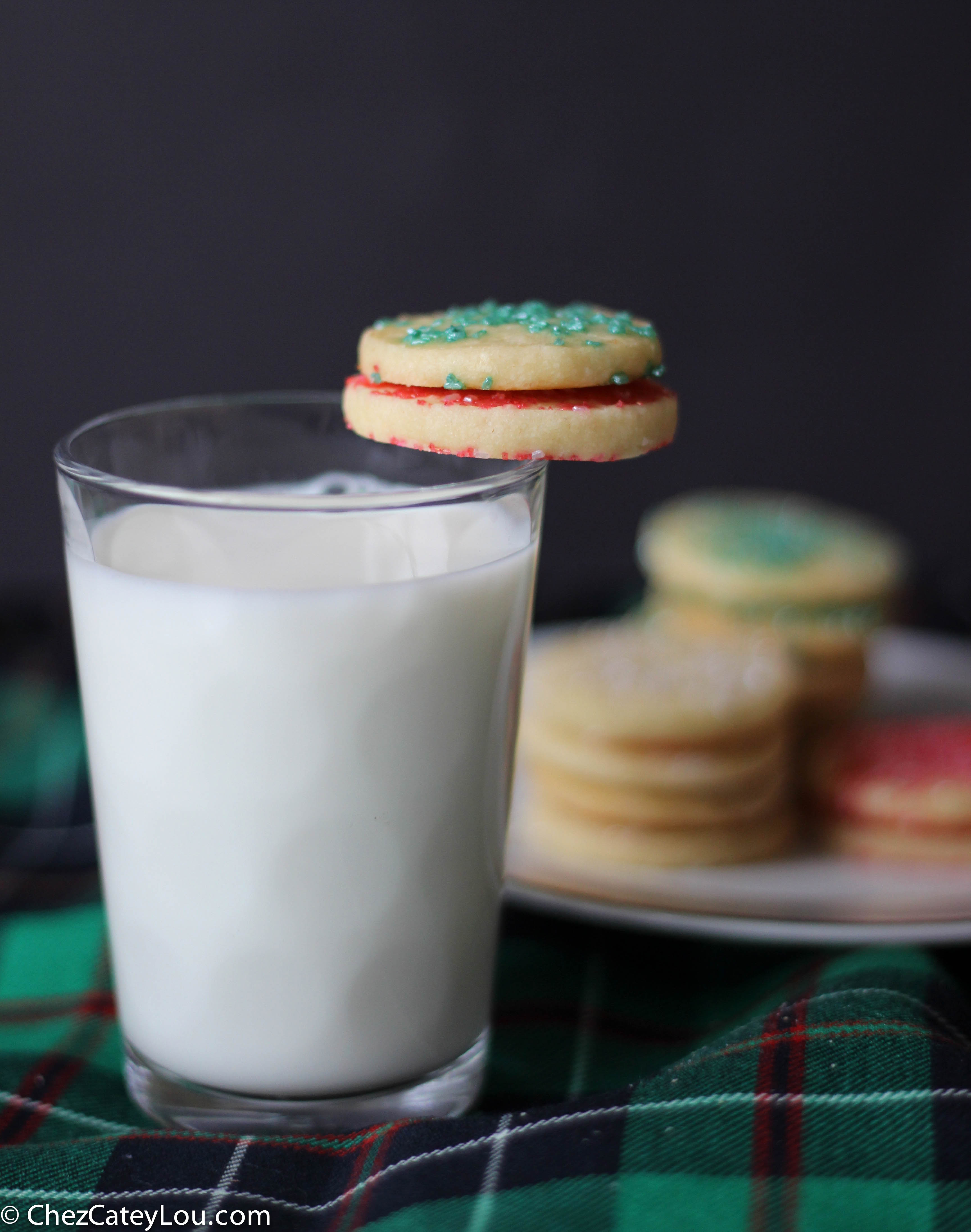 French Butter Cookies, also called a Sable | ChezCateyLou.com