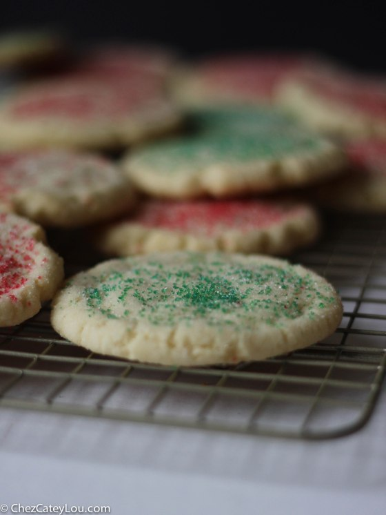 Chewy Sugar Cookies | chezcateylou.com