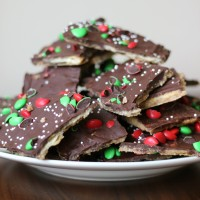 Chocolate Saltine Toffee aka Christmas Crack