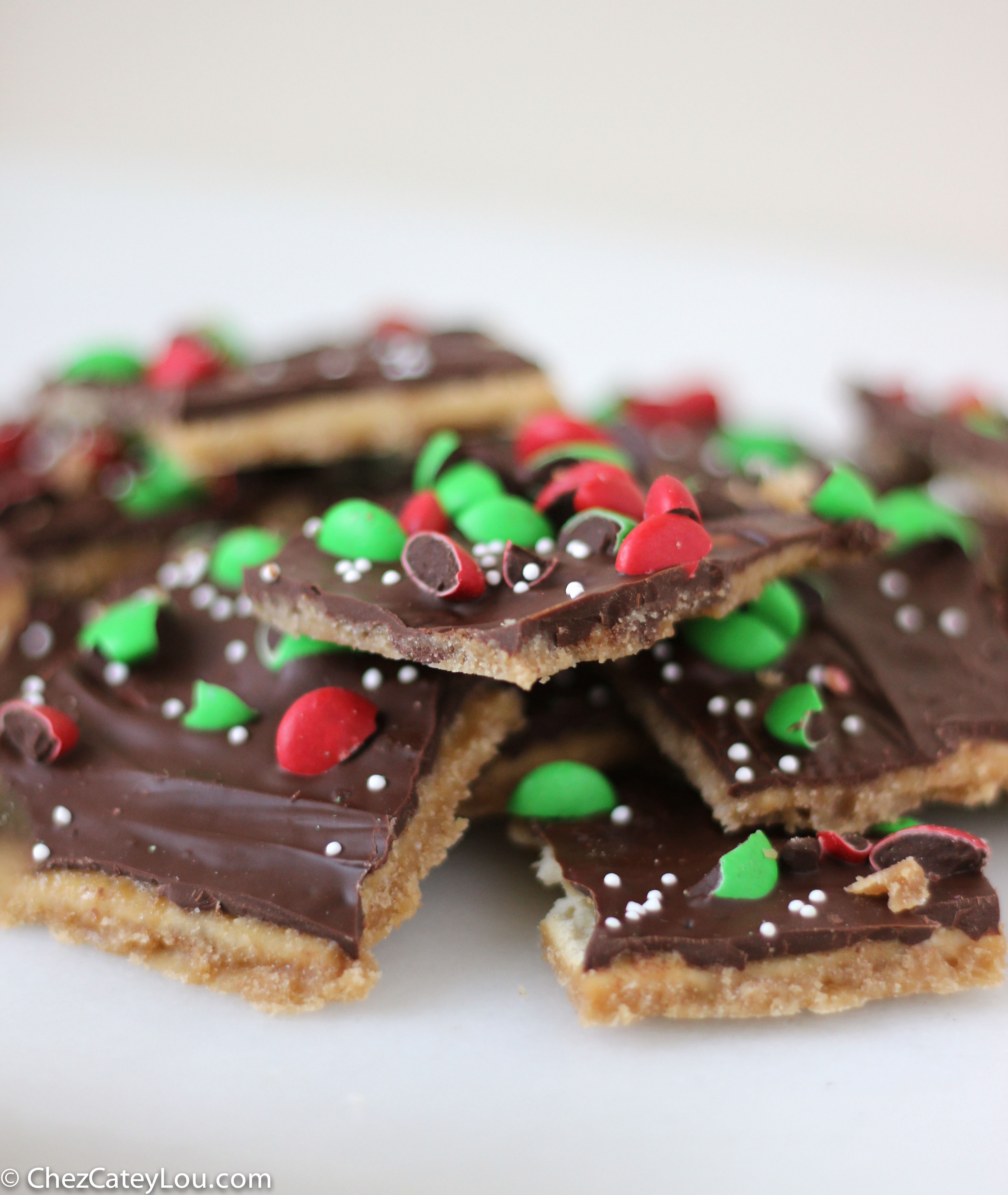 Chocolate Saltine Toffee aka Christmas Crack